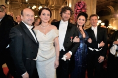 At the Vienna Opera Ball in 2014