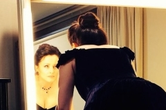 Preparing for La Traviata at Liceu Barcelona in 2015