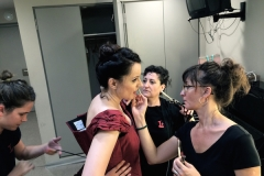 Backstage at Liceu Barcelona, before La Traviata