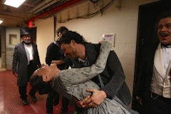 With Vittorio Grigolo after La Boheme