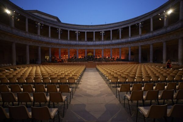 Anita Hartig Performs at the Granada Festival 2020